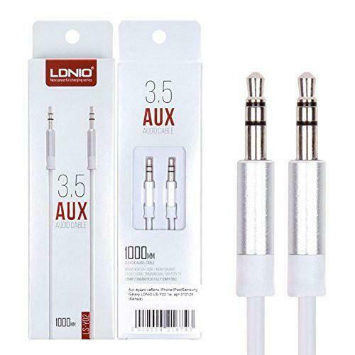 LDNIO 3.5mm AUX Audio Cable
