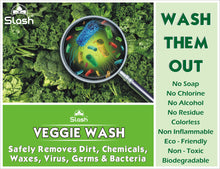 Load image into Gallery viewer, Slash® Veggie Wash - Naturally Derived Fruit & Vegetable Cleanser (Pack of 2 x 200 ML)