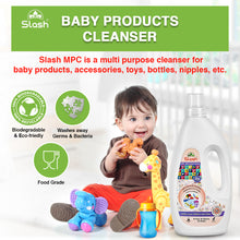 Load image into Gallery viewer, Slash® MPC Baby Products Cleanser, Naturally Derived Liquid, 100% Safe - 1000ml
