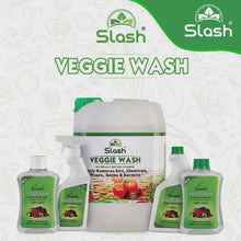 Load and play video in Gallery viewer, Slash® Veggie Wash - Naturally Derived Fruit & Vegetable Cleanser (Pack of 2 x 200 ML)