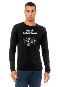 Adult Long Sleeve T-Shirt!
