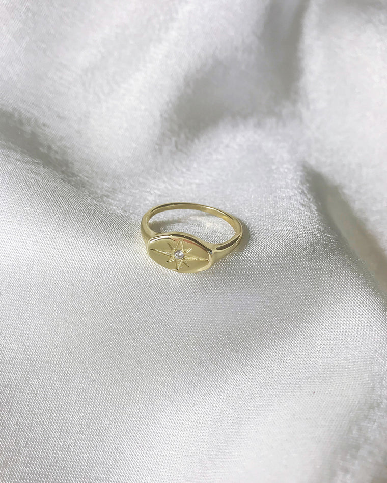 STARDUST - 'BLISS' Ring in 14k Gold