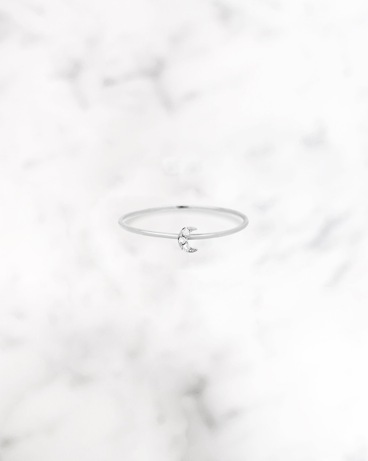 STARDUST - 'LUNA' Ring in Silver
