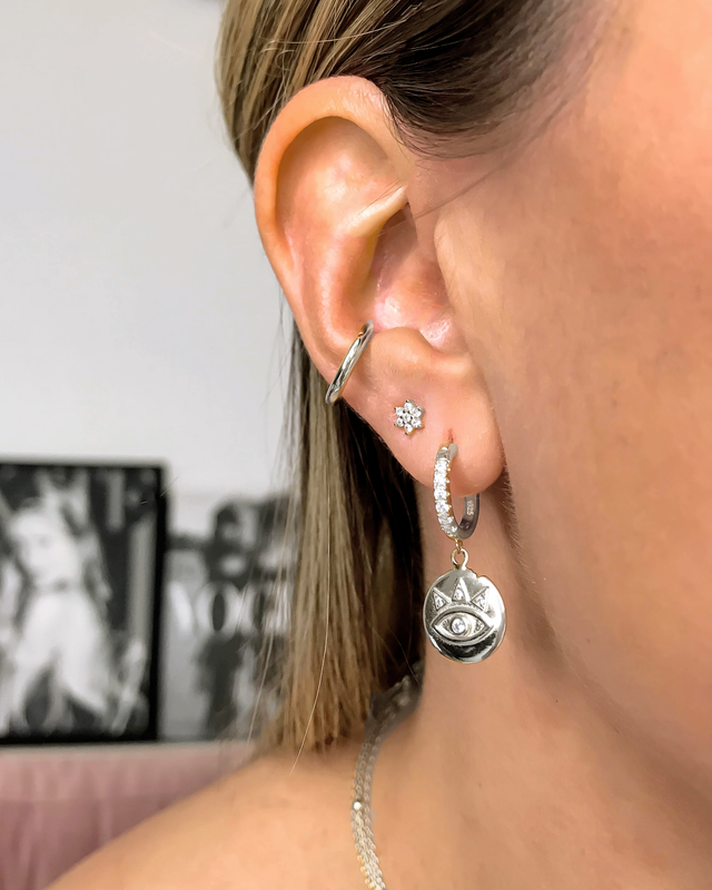 STARDUST - 'PRINCESS OF EGYPT' Earrings in Silver