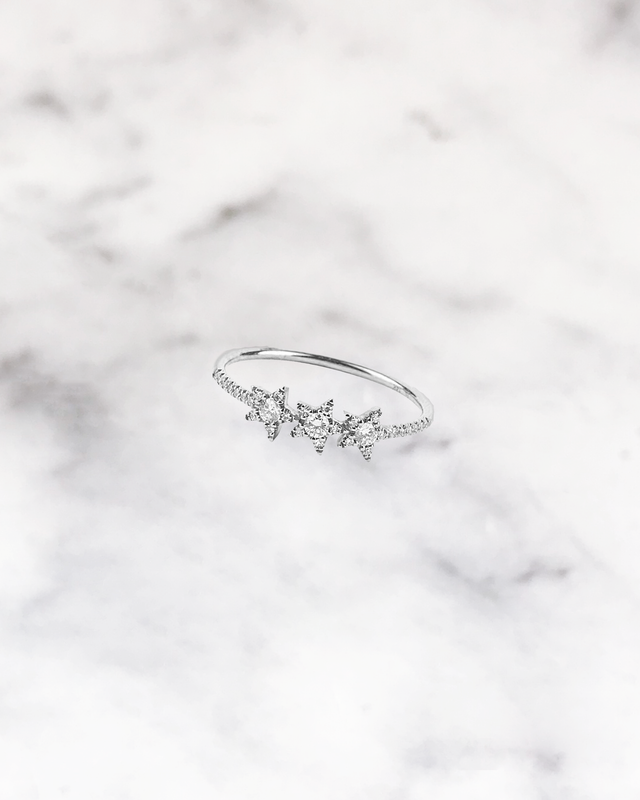 STARDUST - 'STELLAR' Ring in Silver