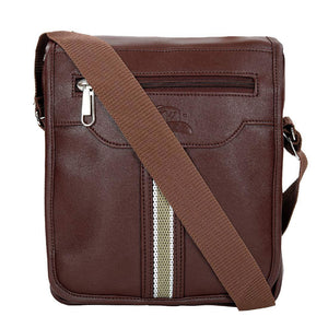 Leather World Unisex Multipurpose Leatherette bag