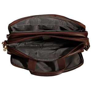 Leather World Expandable Laptop Bags