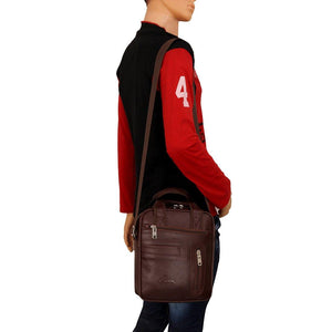 Leather World Unisex Multipurpose Bag