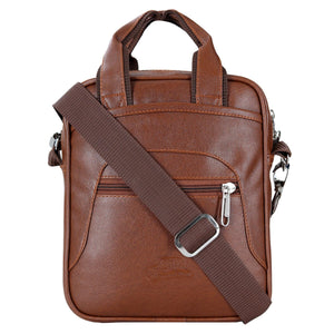 Leather World Unisex Multipurpose Sling Bag
