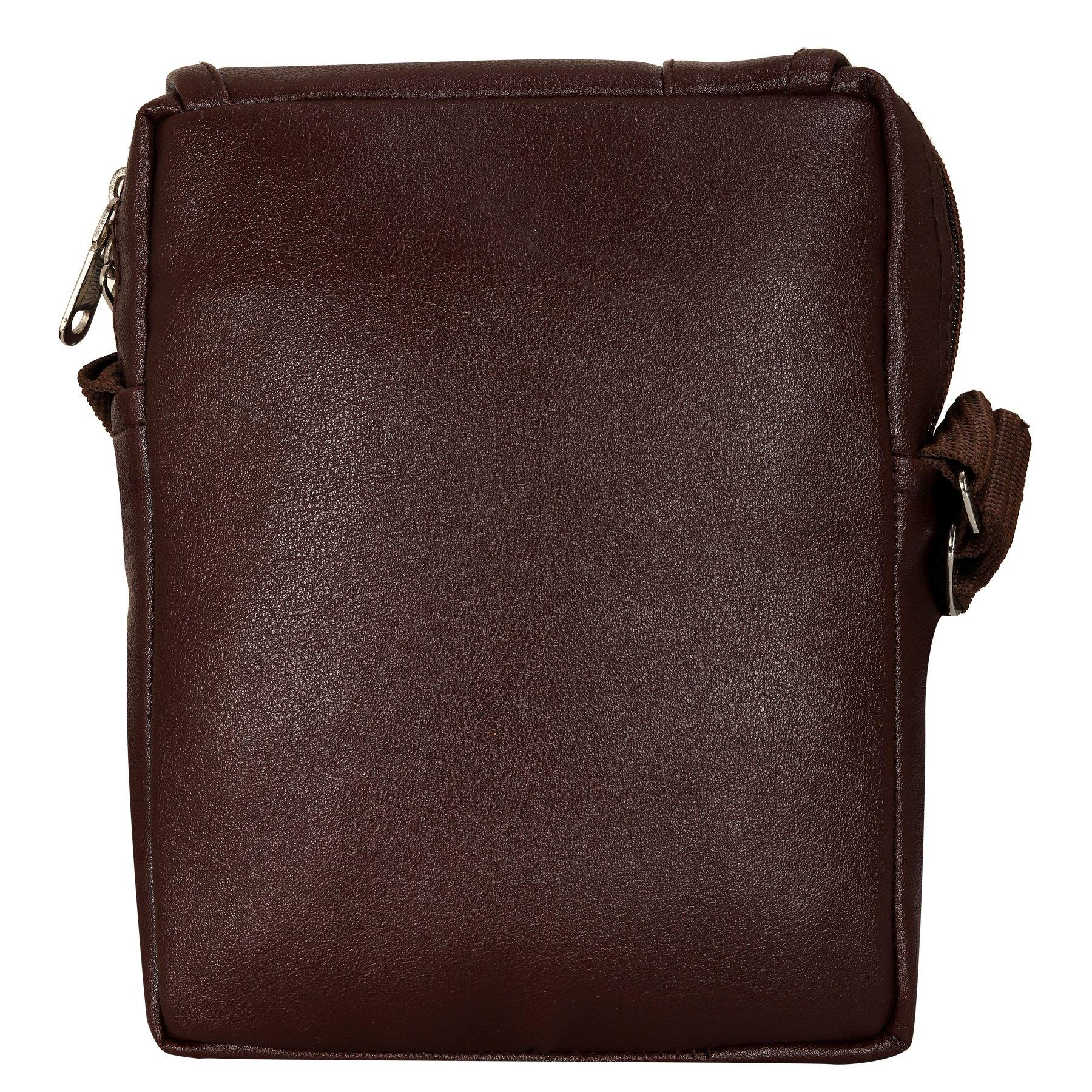 Leather World Unisex Sling Bag