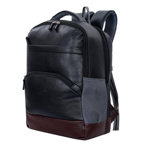 Leather World: Advanced Backpack with a USB Cable