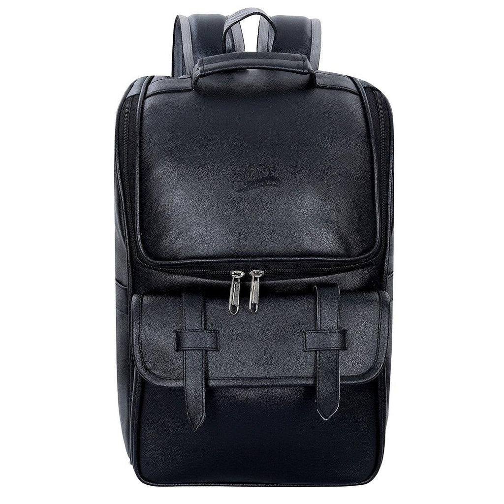 Leather World Premium Leatherette Unisex Backpack - Leatherworldonline.net