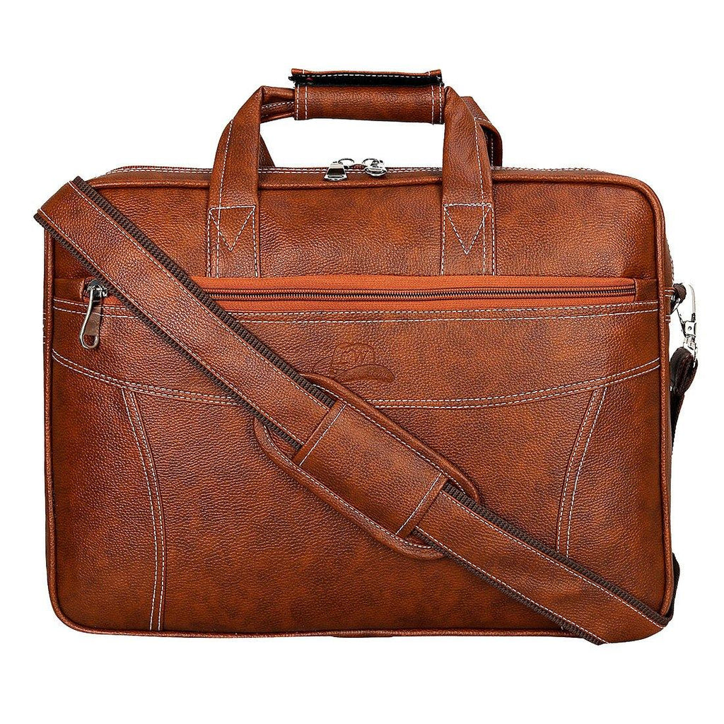 Leather World Unisex Office/Laptop Bag | 15.6 inch - Leatherworldonline.net