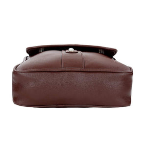 Leather World Unisex Leatherette Sling Bag