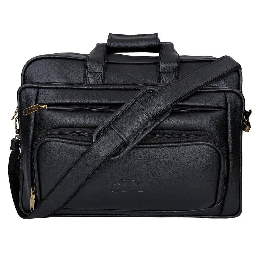 Leather World Expandable Unisex Casual Office Laptop Bag - Leatherworldonline.net