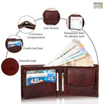 Load image into Gallery viewer, Lux Genuine Leather Wallet for Men