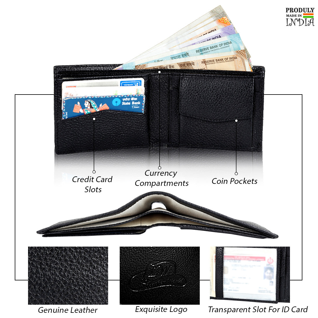 Lux Genuine Leather Wallet for Men