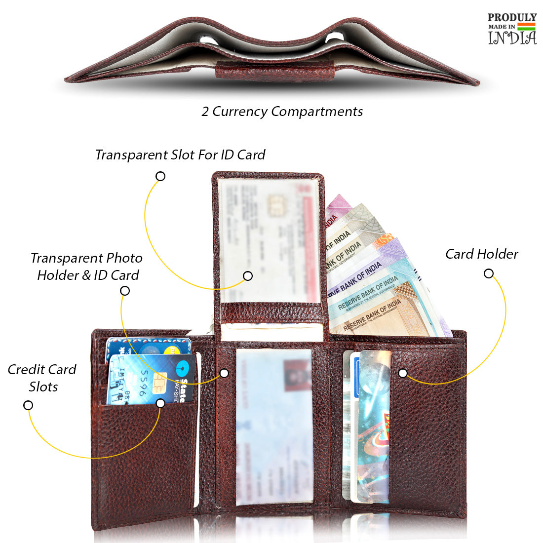 Deluxe Leather Wallet for Men