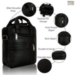 Load image into Gallery viewer, Leather World Unisex Multipurpose Bag