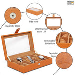 Load image into Gallery viewer, Leather World PU Leather watch box | 12 slots