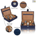 Load image into Gallery viewer, Leather World PU Leather Watch Box | 10 Slots