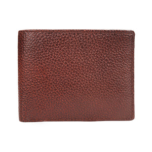 Leather World Genuine Grained Leather Wallet For Men