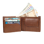 Load image into Gallery viewer, Leather World Genuine Grained Leather Wallet For Men