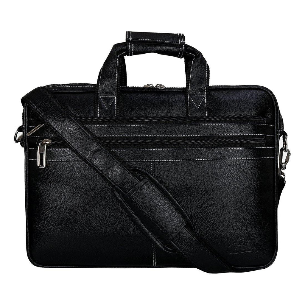 Leather World PU Leather Unisex Laptop/Office Bag - Leatherworldonline.net