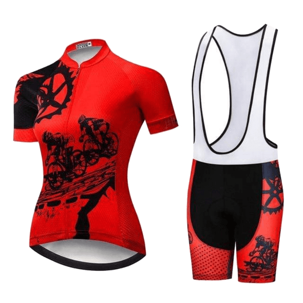 Evelin Cycling Jersey Set