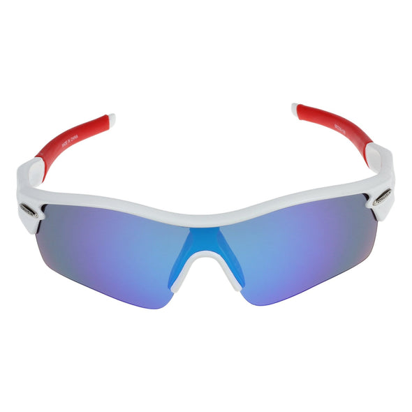 Eerik Cycling Sunglasses - White Red
