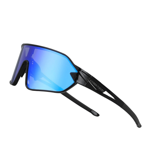 Sigvard Cycling Sunglasses - Black Blue
