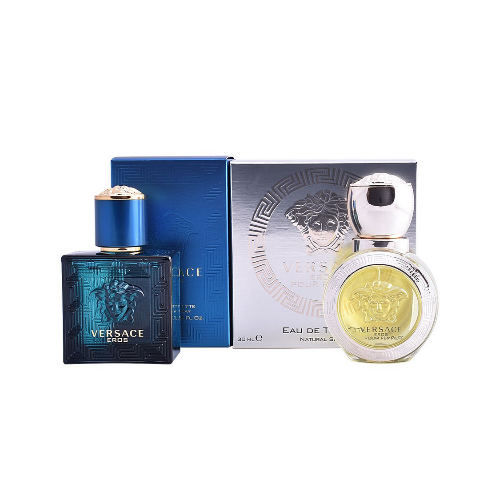Versace Eros Gift Set Men 2pcs x30ml