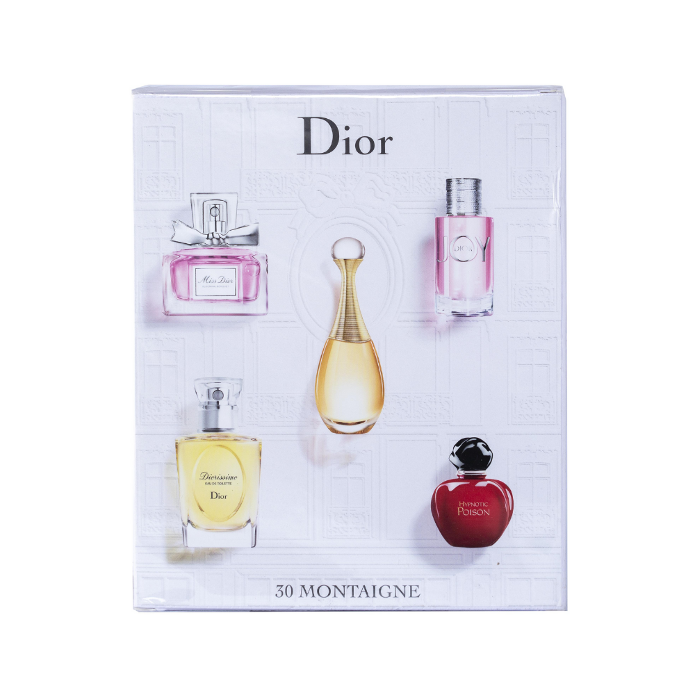 Dior Mini Perfume Gift Set 5 x 30 Montaigne