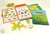 Mini Cheetah Educational DIY Paper Craft Kit: Endangered Wildlife Series