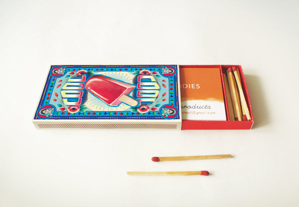 Matchbox Business Card Holder: COOL - DIY Paper Craft Kit