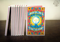 BRIGHT Match Book Notebook