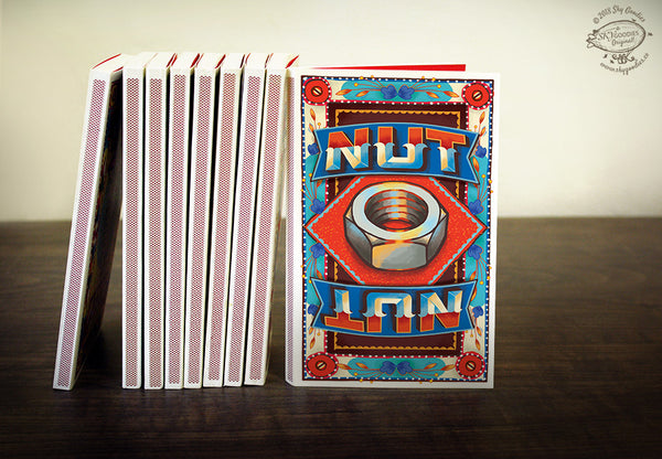 NUT Match Book Notebook