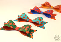 Set of 12 Paper Bows for Gifts