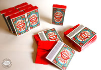 Set of 10 'Smile' Matchbox Gift Boxes