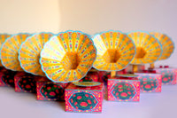 Mini Gramophone Box: Colourful Design  - DIY Paper Craft Kit