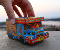 'Goodies Carrier' Truck container: Blue n Red design - DIY Paper Craft Kit