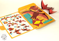 Mini Pterosaur Educational DIY Paper Craft Kit: Prehistoric Wildlife Series