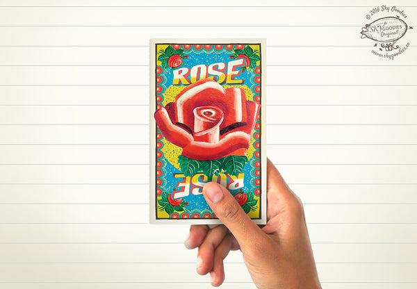 ROSE Mini Notebook (ruled pages)