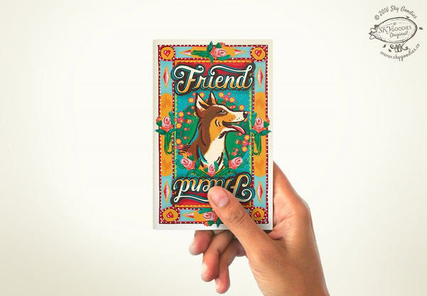 FRIEND Mini Notebook (plain pages)