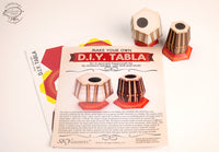 Tabla: the Indian Percussion Musical Instrument - DIY Paper Craft Kit