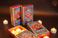 Festive Gift Pack: Matchbox Gift Box with 8 electric tea lights