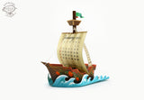 Adventure Ship Desk Calendar for 2021 and 2022 - DIY Paper Craft Kit