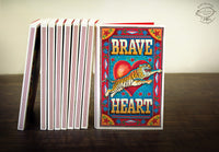 BRAVE HEART Match Book Notebook