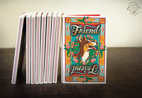 FRIEND Match Book Notebook