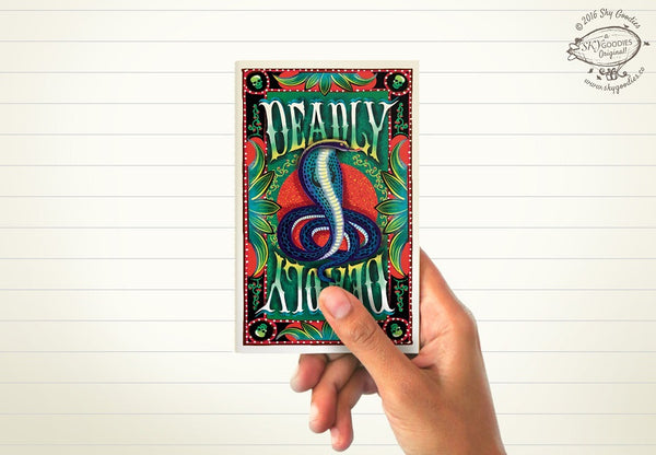 DEADLY Mini Notebook (ruled pages)